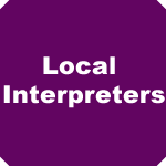 Link to Local Interpreters information.
