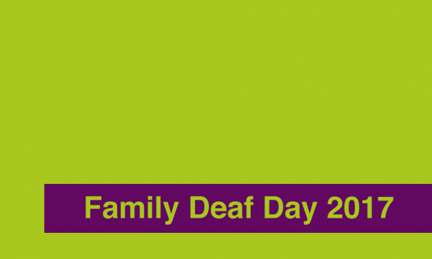 Family Deaf Day Event 2017